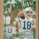 2001 Topps Star Gallery Peyton Manning Colts