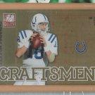 2011 Donruss Elite Craftsman Peyton Manning Colts /999