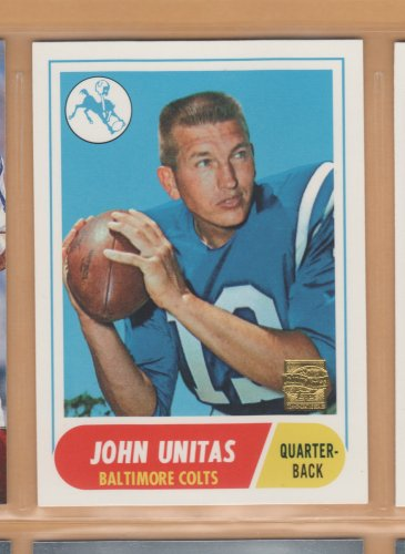 2000 Topps Reprints R12 Johnny Unitas Colts
