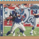 2002 Playoff Honors X's Edgerrin James Colts  /100