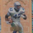1995 Playoff Prime Fantasy Team Chris Warren Seahawks
