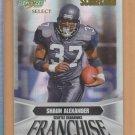 2007 Score Select Scorecard Franchise Shaun Alexander Seahawks /100