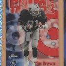 1998 Topps Chrome Season's Best Refractor Tim Brown Raiders