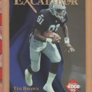1995 Collector's Edge Excalibur 22K Gold Tim Brown Raiders