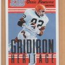 2015 Score Gridiron Heritage Ozzie Newsome Browns