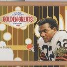 2005 Topps Golden Anniversary Greats Jim Brown Browns