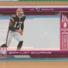 2006 Elite Passing the Torch Paul Warfield Braylon Edwards Browns /1000