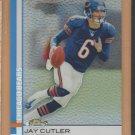 2009 Topps Finest Refractor Jay Cutler Bears