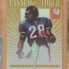 1999 Donruss Elite Passing the Torch Fred Taylor Jaguars /1500