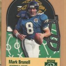 1996 Playoff Prime X's & O's Die Cut Mark Brunell Jaguars