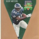 1996 Playoff Contenders Pennants Ricky Watters Eagles