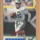 1996 Pro Line Printer's Proof Randall Cunningham Eagles