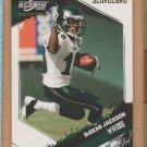 2009 Score Inscriptions Scorecard DeSean Jackson Eagles /50
