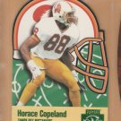 1996 Playoff Prime X's & O's Die Cut Horace Copeland Buccaneers
