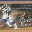 2000 Fleer Ultra Fast Lane Randy Moss Vikings