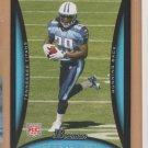 2008 Bowman Rookie Chris Johnson Titans RC