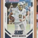 2015 Score Rookie Marcus Mariota RC Titans