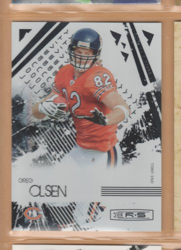2009 Leaf Rookie & Stars Longevity Greg Olsen Bears /99