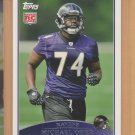 "2009 Topps Rookie Michael Oher Ravens RC ""The Blind Side"""