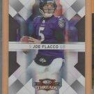 2009 Donruss Threads Silver Joe Flacco Ravens /250