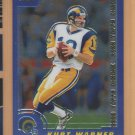 2000 Topps Chrome Preview Kurt Warner Rams