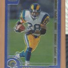 2000 Topps Chrome Preview Marshall Faulk Rams
