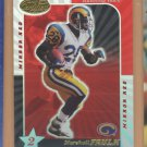 2000 Leaf Certified Mirror Red Marshall Faulk Rams