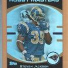 2007 Topps Hobby Masters Steven Jackson Rams