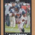 2007 Topps Chrome Refractor Shaun Alexander Seahawks
