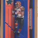 2006 Leaf Rookies and Stars Longevity Blue T.J. Houshmandzadeh /149 Bengals