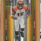 2005 Leaf Rookie & Stars Longevity Gold Chris Henry RC Bengals /99