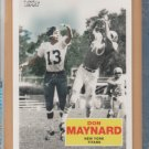 2009 Topps Flashback Don Maynard Jets