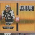 2005 Donruss Elite Career Best Gold Chad Pennington Jets  /500