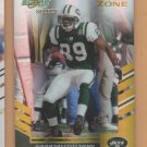 2007 Score Select Gold Zone Jerricho Cotchery Jets /50