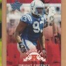 2002 Leaf Rookie & Stars Dwight Freeney Colts RC