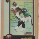 1998 Bowman Chrome Interstate Refractor Keenan McCardell Jaguars