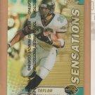 1999 Topps Finest Refractor Sensations Fred Taylor Jaguars