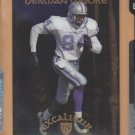 1997 Collector's Edge Excalibur 22K Knights Herman Moore Lions /2000