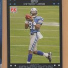 2007 Topps Rookie Calvin Johnson Lions RC