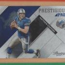 2010 Playoff Prestige Prestigious Pros Matthew Stafford Lions