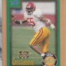 1999 Score Rookie 10th Anniversary Showcase Chris Claiborne Lions RC /1989