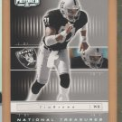2001 Playoff Preferred National Treasures Tim Brown Raiders /400
