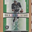 2006 Donruss Elite Back to the Future Marcus Allen Raiders /1000 w/ LaMont Jordan