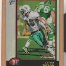 1998 Bowman Chrome Refractor Jason Taylor Dolphins