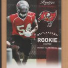 2012 Prestige Rookie Lavonte David Buccaneers RC