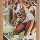2010 Gridiron Gear X's Silver Rookie Trent Williams Redskins /250 RC