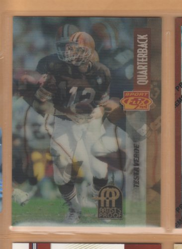 1995 Pinnacle Sportflix Artist's Proof Vinny Testaverde Browns