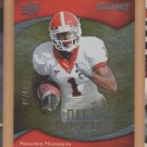 2009 Upper Deck Icons Gold Foil Mohamed Massaquoi Browns /99 RC