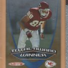 2005 Topps Total Award Winner Tony Gonzalez Chiefs