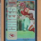2005 Bowman Chrome Blue Refractor Dante Hall Chiefs /250